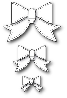 Memorybox Stans - Stitched Bows