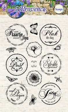Studio Light Clearstamps - La Provence 110