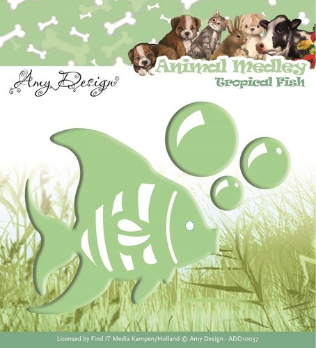 Amy Design Stans - Animal Medley - tropical fish