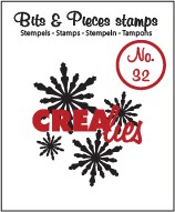 Crealies Clearstamp - Bits & Pieces 32