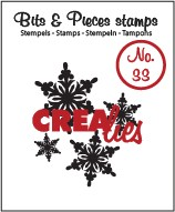 Crealies Clearstamp - Bits & Pieces 33