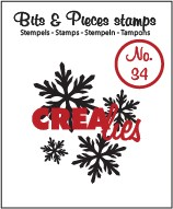 Crealies Clearstamp - Bits & Pieces 34