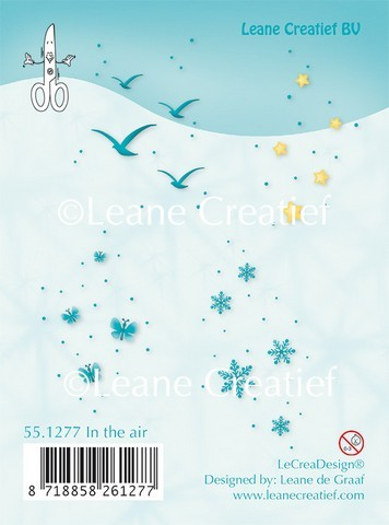 Leane Creatief Clearstamp - in the air