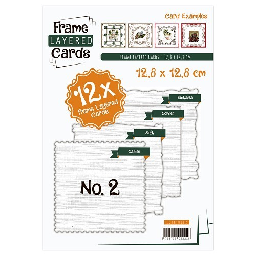 Frame Layered Cards - Vierkant no. 2