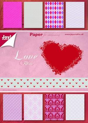 Joy Paper Bloc - Love