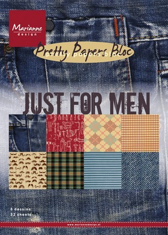 Pretty Papers Bloc - Just for Men