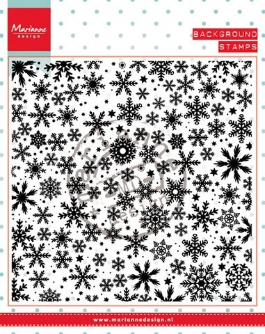 Marianne Design Clearstamp - ice crystals
