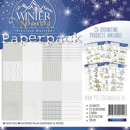 Precious Marieke Paper Pack - Winter Wonderland