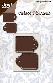 Joy Stencil - Vintage Flourishes - Tags