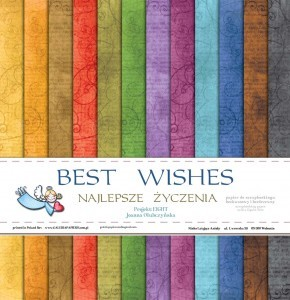 Galeria Papieru Paper Pad - Best Wishes