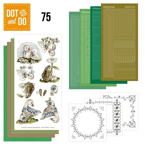 Dot & Do Hobbydots Pakket - Spring Animals