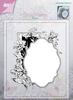 Joy Clearstamp - Flowers 6410/0383