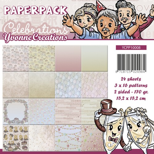 Yvonne Creations Paper Pack - Celebrations
