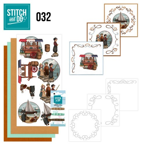 Stitch and Do Pakket - Oud Hollands
