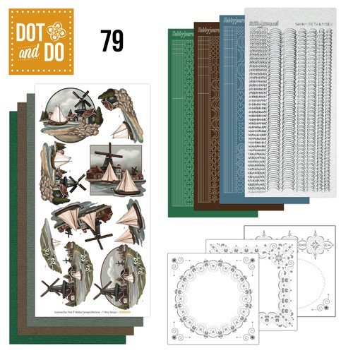 Dot & Do Hobbydots Pakket - Oud Hollands