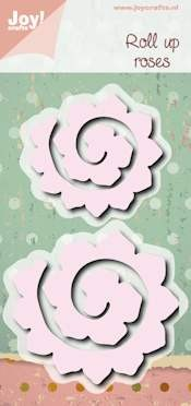 Joy Stencil - roll up roses
