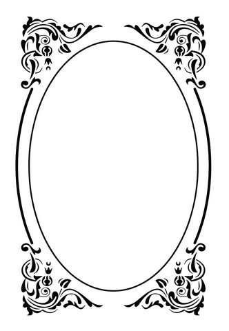 Nellie Snellen Embossing Folder - Deco Frame
