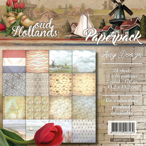 Amy Design Paper Pack - Oud Hollands
