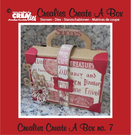 Crealies Stans - Create a Box CCAB07