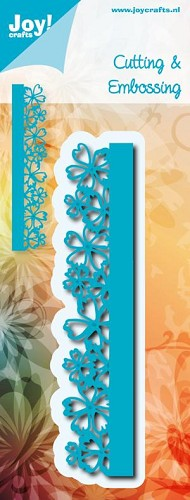 Joy Cutting & Embossing Stencil - bloemenrand