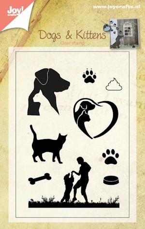 Joy Clearstamps - Dogs & Kittens