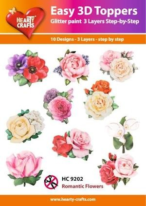 Easy 3D Toppers - Romantic Flowers