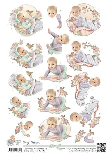 Knipvel Amy Design - Baby Collection CD10684