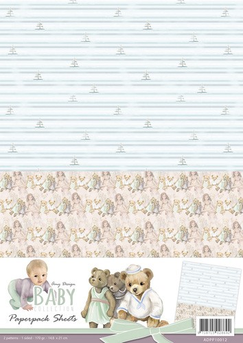 Achtergrondvel Amy Design - Baby Collection ADPP10012