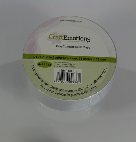 Craft Emotions Easy Connect Craft Tape - 35 mm