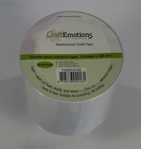 Craft Emotions Easy Connect Craft Tape - 100 mm