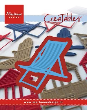 Creatables Marianne Design - Deck Chair