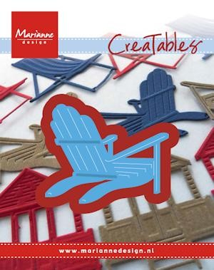 Creatables Marianne Design - Bear Chair