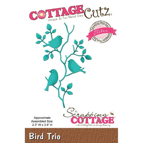Cottage Cutz Stans - Bird Trio