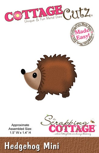 Cottage Cutz Stans - Hedgehog Mini