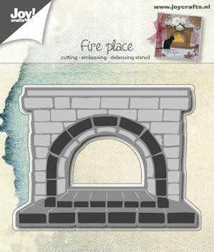 Joy Stencil - Fire Place