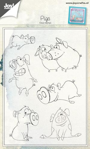 Joy Clearstamps - Pigs