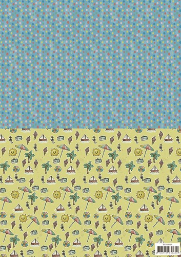Yvonne Creations Background Sheet - Summer Holiday 3