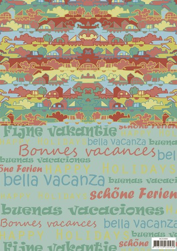 Yvonne Creations Background Sheet - Summer Holiday 1
