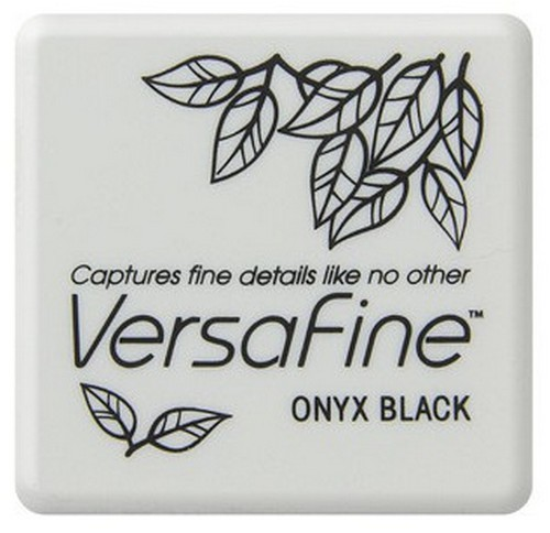 Versafine Stempelkussen Small - onyx black