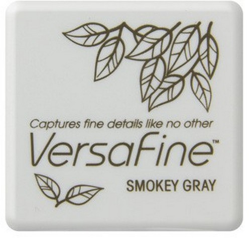 Versafine Stempelkussen Small - smokey gray