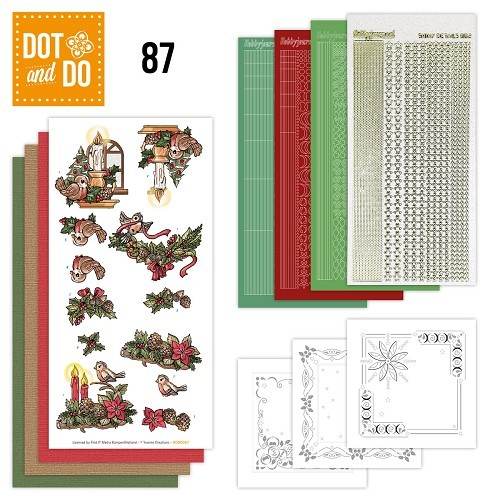 Dot & Do Hobbydots Pakket - Kerstsfeer