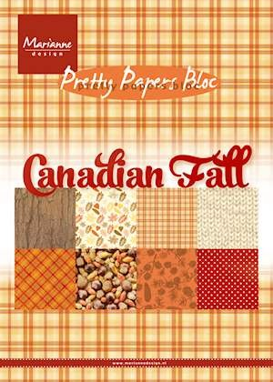 Pretty Papers Bloc - Canadian Fall