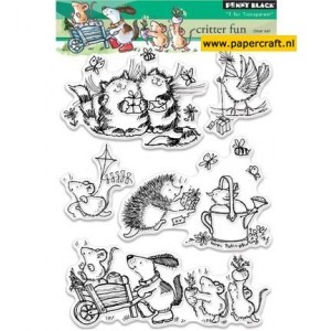 Penny Black Clearstamps - Critter Fun