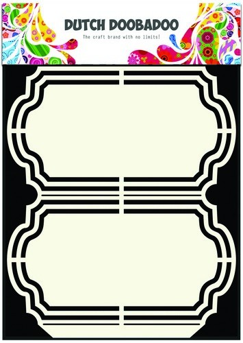 Dutch Doobadoo Stencil - Shape Art - Frames Ornament A5