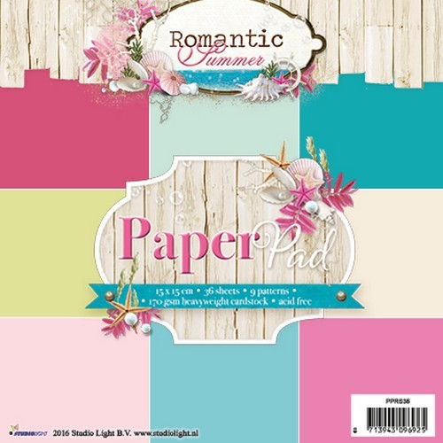 Paper Pad Studio Light - Romantic Summer 36