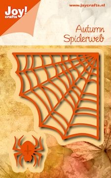 Joy Stencil - Autumn Spiderweb