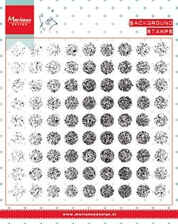 Marianne Design Clearstamp - background distressed dots