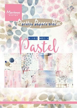 Pretty Papers Bloc - Tiny`s Mixed Media - pastels