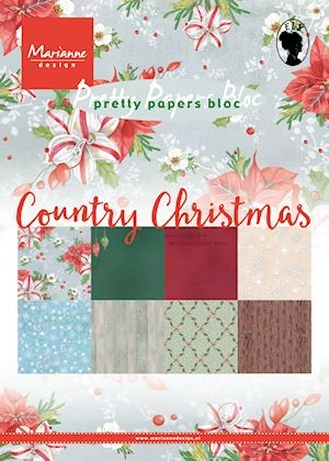 Pretty Papers Bloc - Country Christmas