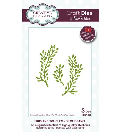 Creative Expressions Stans - Olive Branch